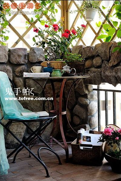 阳台不只是晾衣服用的,30款惬意阳台打造休闲人生! - 尚美家装㊣ - 日照 尚美家装㊣ 资料站