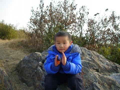元旦假期陪儿子爬山 - 先行者 - 先行者的足迹