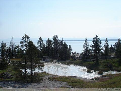 [原创] 美国黄石公园风光欣赏(5):黄石湖 - 阳光月光 - 阳光月光