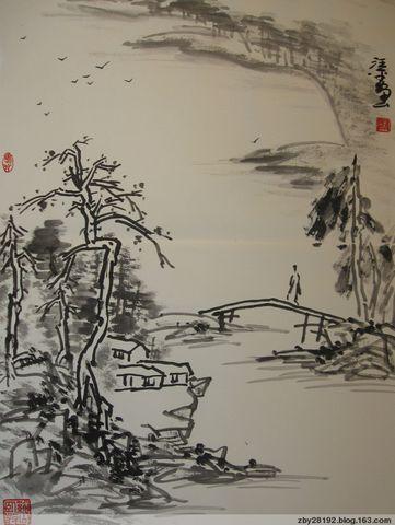 求是斋珍藏-汪平先生花鸟山水册 - 求是斋 - 求是斋书画