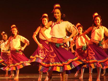 藏族群舞专辑_藏族女子群舞
