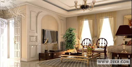 精美的客厅样板集锦 让你走在时尚前端! - 八一★老黑 - 八一★老黑的BLOG