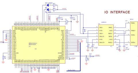 系统硬件电路结构图
