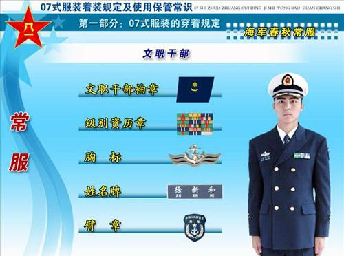新式军服详解(摘转) - 江山 - 回首军旅往事 又忆起那高唱军歌的日子