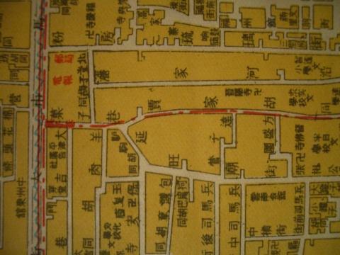 老地图(局部) - 老北京地图的博客的日志