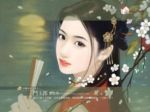 【原创】题仕女图诗(312) - 方正男 - 文墨染浓香 雅诗飘淡芳