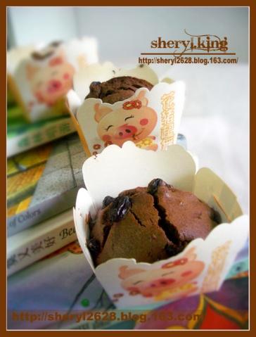 巧克力情谊蛋糕 - 出尘素影 - 淡极始知花更艳