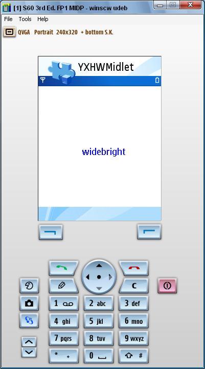 初学J2ME 手机游戏编程 - widebright - widebright的个人空间