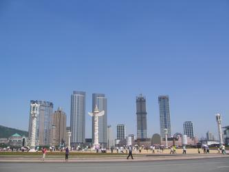 大连星海广场---亚洲最大广场(图)