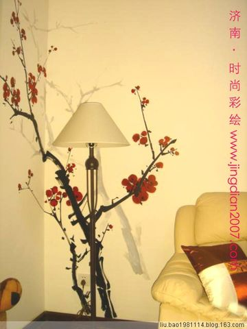 【转载】几套经典墙面手绘表现(35pic) - 艺海无涯 - 艺海无涯