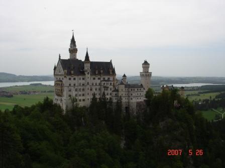 阿尔卑斯山的新天鹅堡-德国60天第四篇 - 吴木銮 - 吴木銮的博客