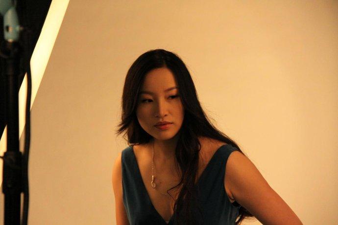 上周花絮照,原来我挺适合宝蓝色~ - 杨冰阳Ayawawa - Ayawawa 杨冰阳