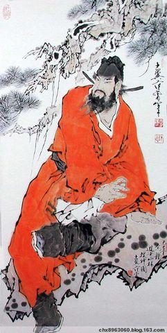 [搜集整理] 范增中国人物画精品赏析(48幅) - 陈迅工 - 杂家文苑