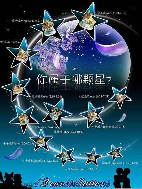 十二星座之最(罪) - caiyiah2008 - 幸福摩天轮