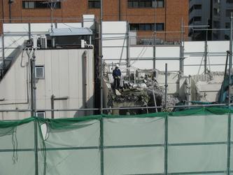 日本建筑工地现场