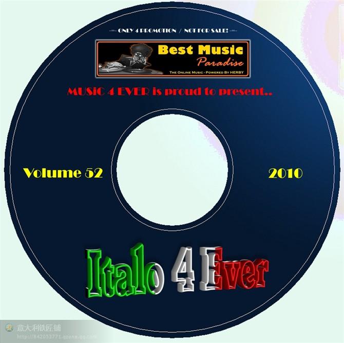 VA-Italo_4_Ever_-_Vol_52-CD - 意大利铁匠 - 分享劲爽节奏--XINBO21