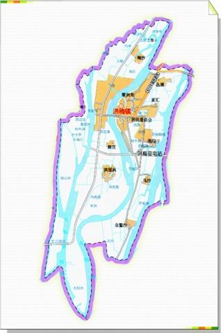 东莞所有镇区地图