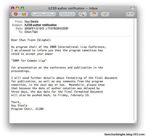 永恒的荣耀 - 氷河 - 氷河/LispWorks 5.1.2