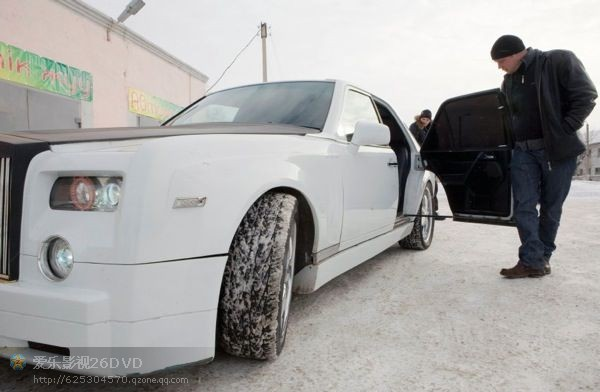 俄罗斯牛人打造山寨版劳斯莱斯汽车 高清图片
