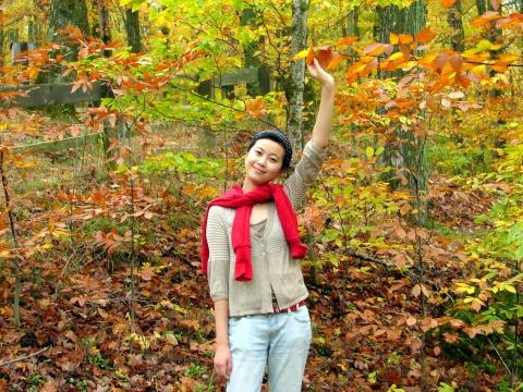 秋风秋水的真情 - 朵儿 - 朵儿