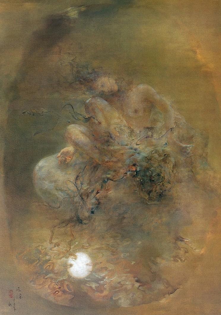引用 胡峻涤油画欣赏 - 卧虎草堂 - 张子鸿的国画