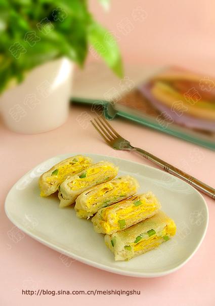 两道温暖早餐饼-家常蛋饼+蔬菜饼 - 小芊芊 - 小芊芊