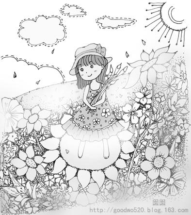 简单日记手绘小插画