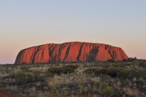 行走在澳大利亚沙漠中(一) - 朱大鸣 - 朱大鸣网易博客