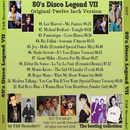 VA-8039;s Disco Legend Vol.1-11 - 意大利铁匠 - 分享劲爽节奏--XINBO21