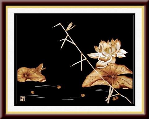精美的芦苇画艺术 - 唐萧 - 唐萧博客