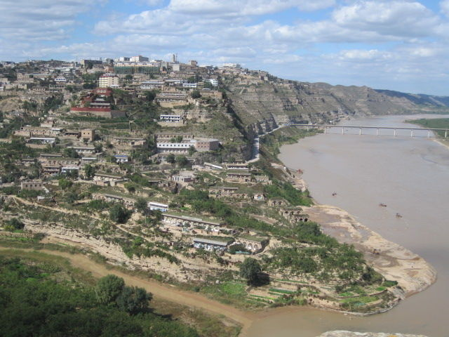 黄河从佳县流过