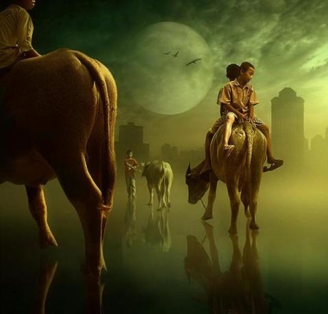 【原创随笔】故事与人生(4) - 芊芊若水 - 童心中的童话