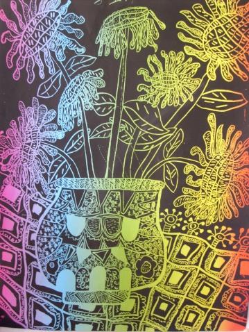 【引用】装饰画--瓶花的魅力 - 叶子 - 叶子创意画室图片