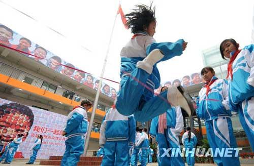 四川灾区抗震级别最高的学校交付使用 - mdshnx - 梦多心法