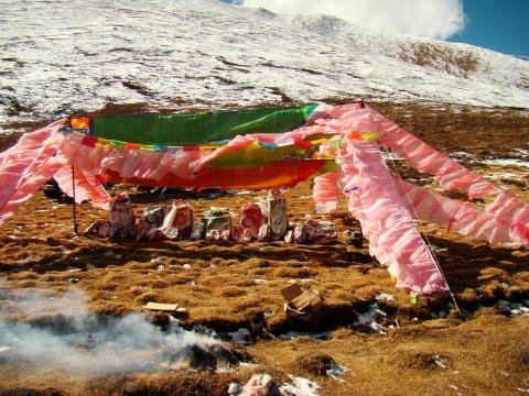 经幡与经文也是一种文化 - 卓巴 - 尕多觉卧的寻梦缘