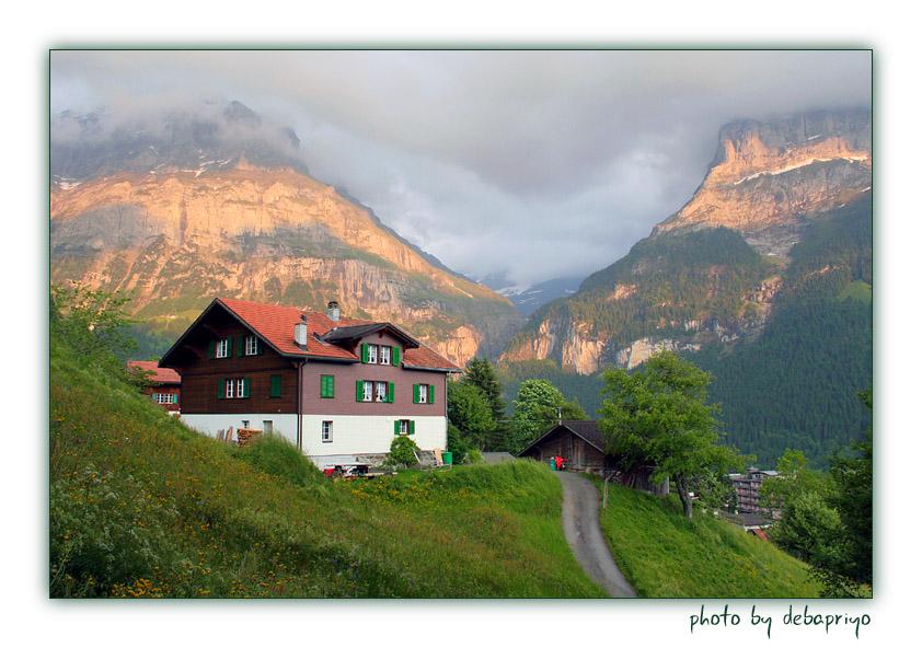 德国北部乡村小镇风景