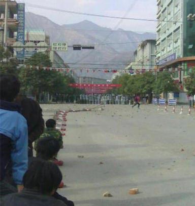 陇南市发生群体性事件打砸抢烧市委机关 - 写意红河故里 -