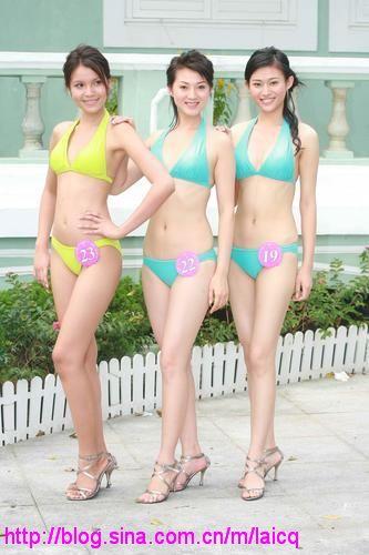 24位亚姐火辣辣的泳装照(组图) - 回到过去 - 龙哥的博客