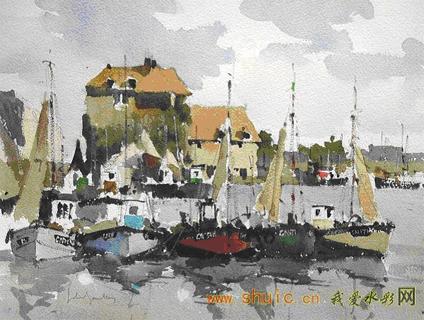 英国当代水彩画家--约翰·雅德理 - tangchangan - 淡泊明志,宁静致远