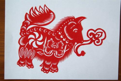 吉祥动物剪纸(二) - 竹子 - wangshujie.962 的博客