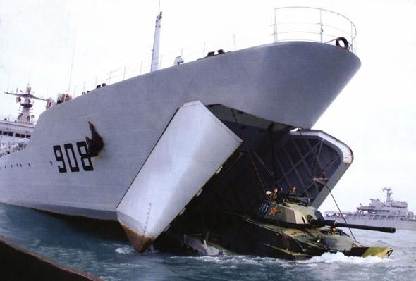中国海军记忆(11):坦克登陆舰的发展 - 天使心^_^ - 那一片深蓝……