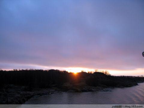 [原创]芬兰湾:乌云挡不住日出 - 岛主或船长 - 岛主与船长
