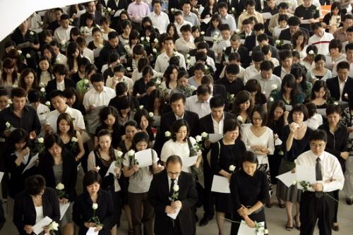 SOHO中国全体员工为灾区人民祈祷 - 潘石屹 - 潘石屹的博客