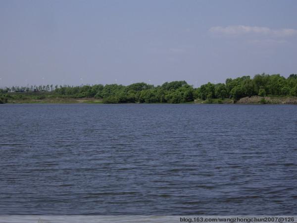 这就是哈尔滨江北的月亮湾