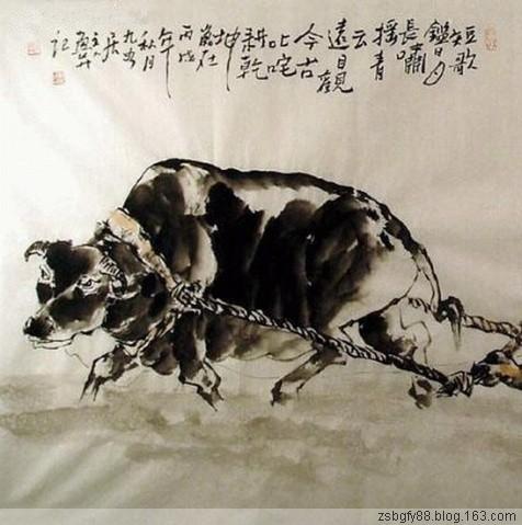 七律·新年说牛----和华山论剑 - 仰望昭昭 - zxa78711的博客