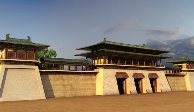 【现代诗】 穿越唐诗的城门 (原创) - 博雅.wolaxiao - 博雅.wolaxiao的博客