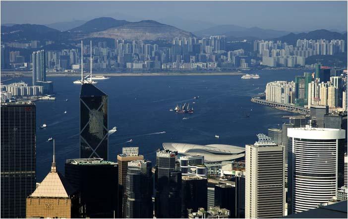 [原]香港·太平山顶 - Tarzan - 走过大地