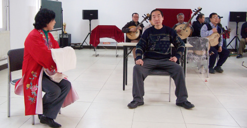和韵社——2009迎新春京剧演唱会排练纪实(三) - 和合为美 韵味永昌 - 和韵京剧社 的博客