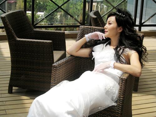 大陶虹婚纱美图 - 水无痕 - 明星后花园