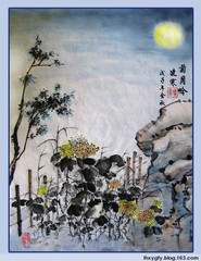 题凌寒画[菊月吟]红叶习作和东篱 - 红叶 - 红叶的网易博客